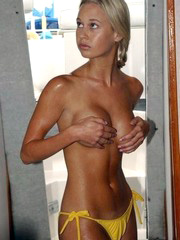Real nudist and naturist amateur women..