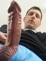 Hard as rock with big cock