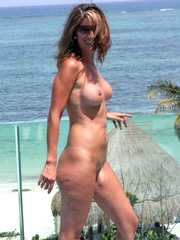Nudist and naturist girls spreading..
