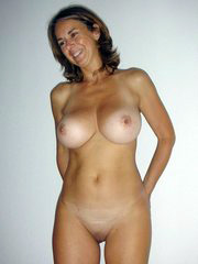 Big titted brunette housewife dressed..